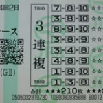 馬券の買い方~毎日王冠レースデータ